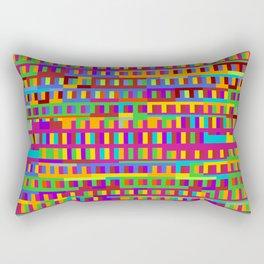 Beethoven Moonlight Sonata (Rainbow Hues) Rectangular Pillow