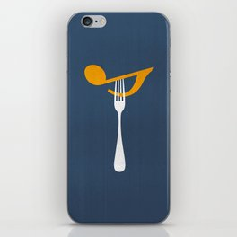 Hungry For Music iPhone Skin
