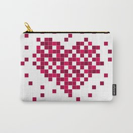 Red heart. Carry-All Pouch