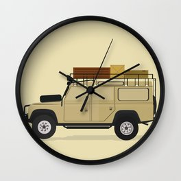 Landrover Wall Clock
