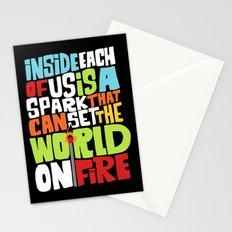 a spark inside Stationery Cards