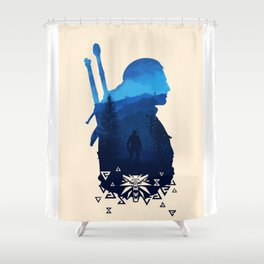 The witcher Shower Curtain