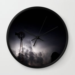 Midnight Thunder Wall Clock