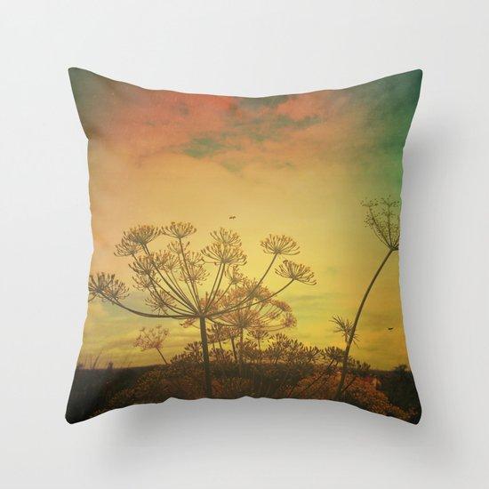 Summer Enchantment Throw Pillow