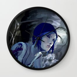 Chloe and The Storm Wall Clock