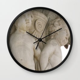 Cherubs in Madrid Wall Clock