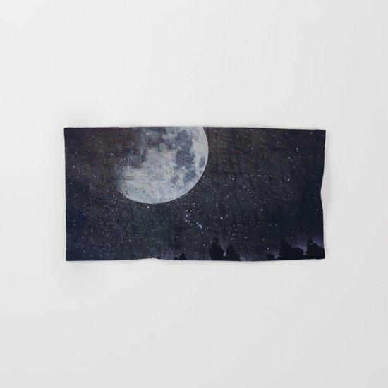 Starry moon  Hand & Bath Towel