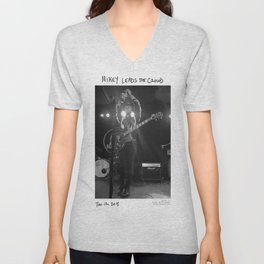 Birds in the Boneyard, Print 14: Mikey Leads the Crowd Unisex V-Neck