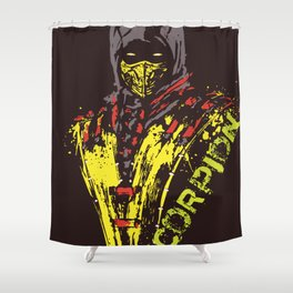 scorpion mk Shower Curtain