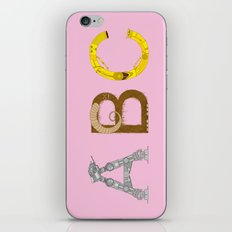 mAY BEE SEE be with you! (pink) iPhone & iPod Skin