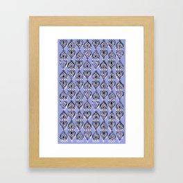 Lavender Taj Framed Art Print