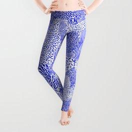 Blue sand Leggings