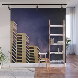 Steps to Nothingness Wall Mural