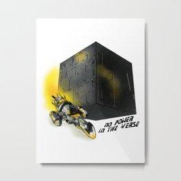 No Power In The Verse Metal Print