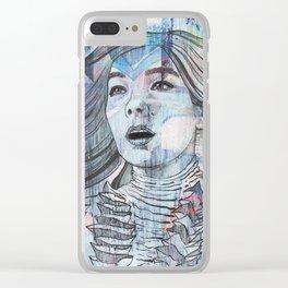 Bjork - I'm A Whisper In Water Clear iPhone Case