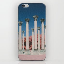 Capital Columns in infrared iPhone Skin