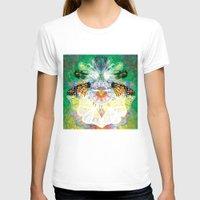 clockwork T-shirts featuring Clockwork Butterfly by VivianLohArts