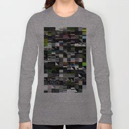 Abstract digitalism pt. I Long Sleeve T-shirt