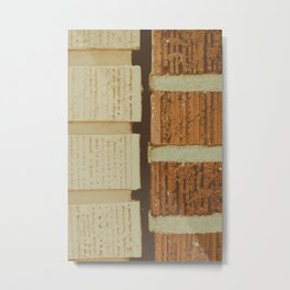 brick split Metal Print