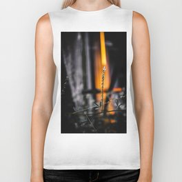 Heaven and Hell Are Raging Inside Me Biker Tank