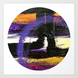 Window Abstract Art Print