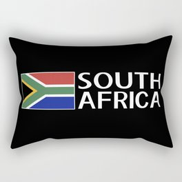 South Africa: South African Flag & South Africa Rectangular Pillow