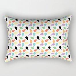 Paisley Jelly Beans Rectangular Pillow