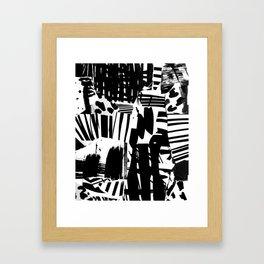 Kollage 21 Framed Art Print