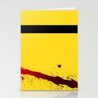 kill bill Stationery Cards featuring Kill Bill by Electric Avenue