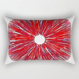 #210 rays Rectangular Pillow