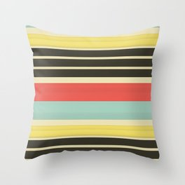 Stripes 42 Throw Pillow