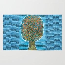 Tree and Birds Rug