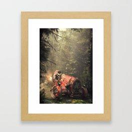 KingBishop Framed Art Print