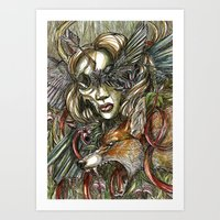 Lilith's Daughter Art Print