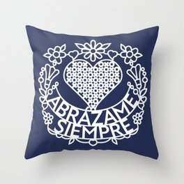 Abrázame Siempre - Hug Me Always (W) Throw Pillow