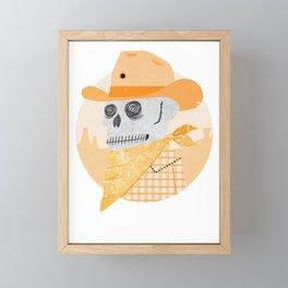 Wanted Dead Framed Mini Art Print