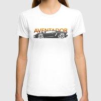 lamborghini T-shirts featuring Lamborghini Aventador by Vehicle