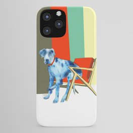 Great Dane in Chair #1 iPhone Case