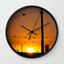 West Footscray railway Wall Clock