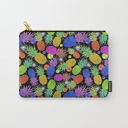 Groovy Pinapples Carry-All Pouch
