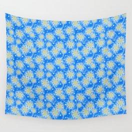 Inspirational Glitter & Bubble pattern Wall Tapestry