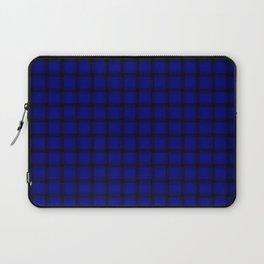 Small Dark Blue Weave Laptop Sleeve