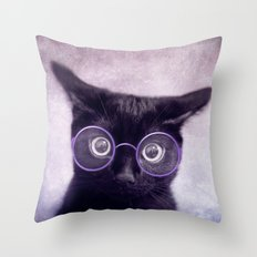 What!? (smart version) Throw Pillow