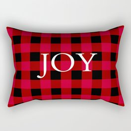 Joy Red Buffalo Check Rectangular Pillow