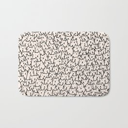 A Lot of Cats Bath Mat