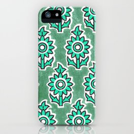 Indian Lucite Green iPhone Case