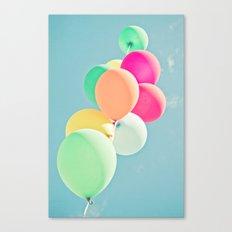Balloon Mania Canvas Print
