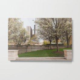Millennium Park in May Metal Print
