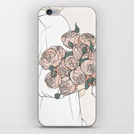 Peonies iPhone Skin