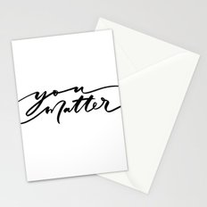 You Matter Stationery Cards
